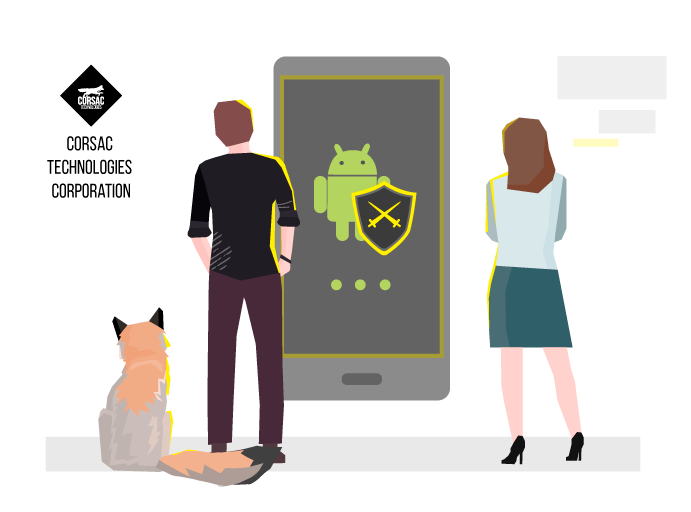 Network data channel protection for Android applications