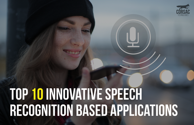Top 10 innovative speech recognition based applications