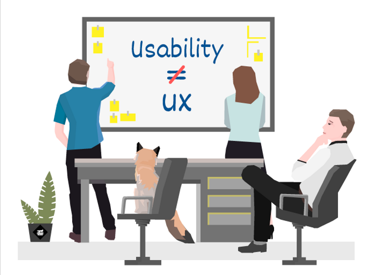 Usability is not UX