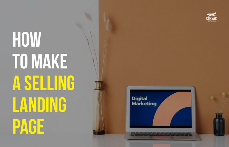 How to make a selling landing page