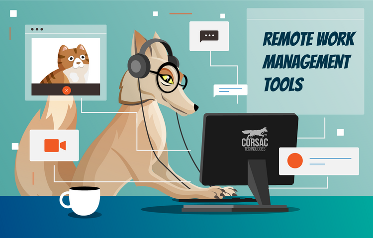 Remote work management tools