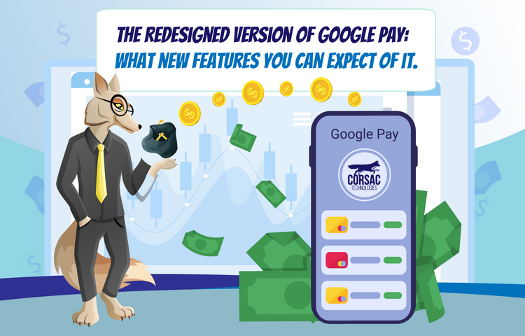 The redesigned version of Google Pay: what new features you can expect of it.